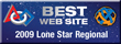 We had the best website at the LoneStar regional in 2009!